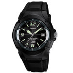 Black Casual Classic Watch Product Image