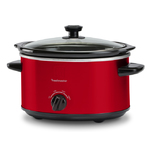4qt Slow Cooker w/ Removable Insert Red Product Image
