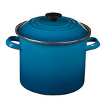 6qt Enamel on Steel Covered Stockpot Marseille Product Image