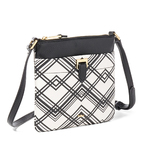 Carlisle Crossbody Black/White Product Image