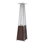 Pyramid Flame Patio Heater w/ Hammered Bronze Panels Product Image