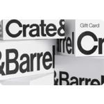 Crate & Barrel Gift Card $75