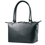 Jordyn Laptop Tote Bag Black Product Image