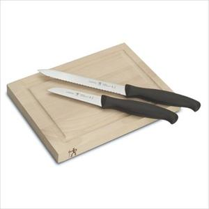 International 3-Piece Knife and Board Set Product Image