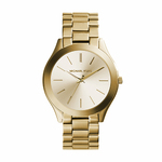 Ladies Runway Slim Gold-Tone Watch Product Image