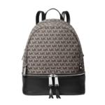 Michael Kors Rhea Medium Logo Jacquard Backpack Product Image