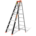 Microburst 8 Ft. Fiberglass Stepladder Product Image