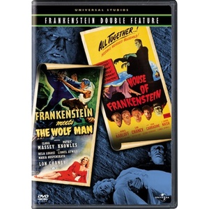 Frankenstein Meets Wolfman/House of Frankenstein Product Image