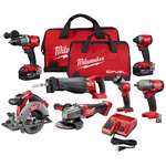 M18 Fuel 7pc Power Tool Combo Kit Product Image
