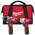 M12 Hammer Drill/Driver & Hex Impact Driver Tool Kit Product Image