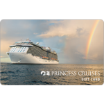 Princess Cruise Lines eGift Card $500.00 Product Image