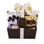 GODIVA® Celebration Gift Basket w/Thank You Ribbon Product Image