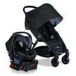 Pathway 4-Wheel Stroller/B-Safe 35 Infant Car Seat Travel System - Sketch Product Image
