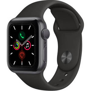 Watch Series 5 (GPS Only, 40mm, Space Gray Aluminum, Black Sport Band) Product Image