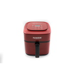 6qt Digital Air Fryer Red Product Image