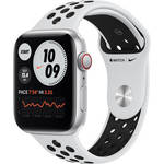 Watch Nike SE (GPS + Cellular, 44mm, Silver Aluminum, Pure Platinum/Black Nike Sport Band) Product Image
