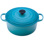 7.25qt Signature Cast Iron Round Dutch Oven Caribbean Product Image