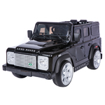 Black 1:4 Land Rover Defender SUV Product Image