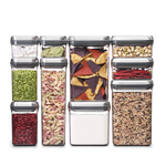 SteeL 10pc POP Food Storage Container Set Product Image
