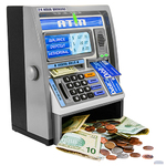 Talking ATM Machine Silver Product Image