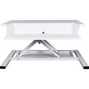 Level Up Pro 32 Pneumatic Adjustable Desktop Station (White) Product Image
