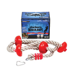 Slackers 8ft Ninja Climbing Rope w/ Foot Holds Product Image