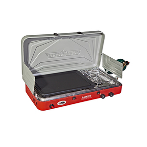 Rainier Two-Burner Stove w/ Griddle Product Image