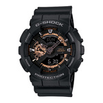 G-Shock Big Case Ana-Digi Watch Black/Rose Gold Product Image