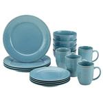 Cucina 16pc Dinnerware Set Blue Product Image