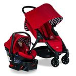 Pathway 4-Wheel Stroller/B-Safe 35 Infant Car Seat Travel System - Cabana Product Image