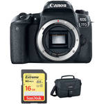 EOS 77D DSLR Camera Body with Accessory Kit Product Image