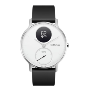 Steel HR 36mm Hybrid Smartwatch (White) Product Image