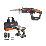 20V 2pc 20V Drill Combo & Axis Reciprocating Saw Kit Product Image