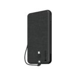 mophie Powerstation Plus XL - Black Fabric (10,000mAh) Product Image