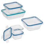 Total Solution 10pc Pyrex Glass Storage Set Product Image