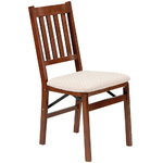 Set of 2 Arts and Craft Folding Chair Cherry Product Image