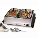5Qt Dual Stainless Steel Buffet Server Product Image