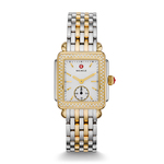 Ladies Deco 16 Two-Tone Diamond Watch Mother of Pearl Dial Product Image