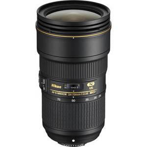 AF-S NIKKOR 24-70mm f/2.8E ED VR Lens Product Image