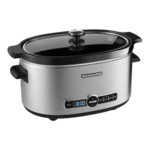 KitchenAid 6 Quart Slow Cooker with Solid Glass Lid Product Image