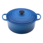 5.5qt Signature Cast Iron Round Dutch Oven Marseille Product Image