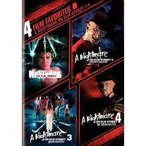 4 Film Favorites-Nightmare On Elm Street 1-4 Product Image
