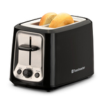 2-Slice Cool Touch Toaster Black Product Image