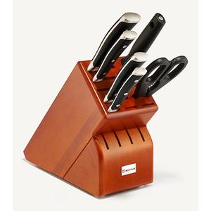 7pc Classic Ikon Knife Block Set Cherry Product Image