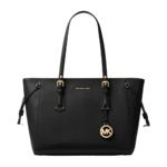Michael Kors Voyager Medium Crossgrain Leather Tote Bag Product Image