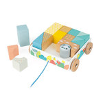 Pure Pull-Along Blocks Cart Ages 18-36 Months Product Image
