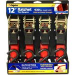CargoLoc 4-Piece Ratchet Tie Downs Product Image