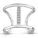 Contemporary Diamond Ring Product Image