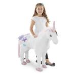Unicorn Jumbo Stuffed Plush Ages 3+ Years