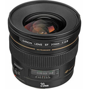 EF 20mm f/2.8 USM Lens Product Image